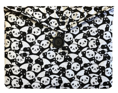Panda Print Tablet Bag