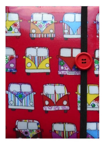 Pink Camper Van Print E-Reader Case - Miss Pretty London UK Limited