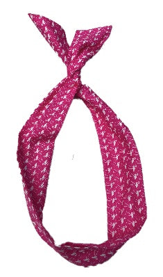Pink Flamingo Print Wire Headband
