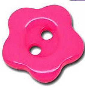 Mini_Cerise_Pink_Flower_Buttons_-_14mm