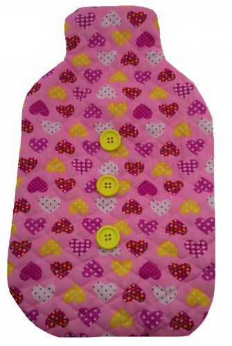 Pink_Hearts_Print_Hotwater_Bottle_Cover