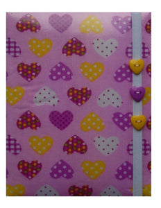Pink Hearts Print E-Reader Case - Miss Pretty London UK Limited