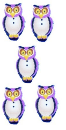 Pink_Owl_Buttons_-_Pack_of_5