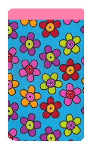 Pop Daisy Print Mobile Phone Sock Pouch
