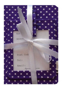 Purple_Polka_Dot_Passport_Cover_and_Luggage_Tag_Gift_Set