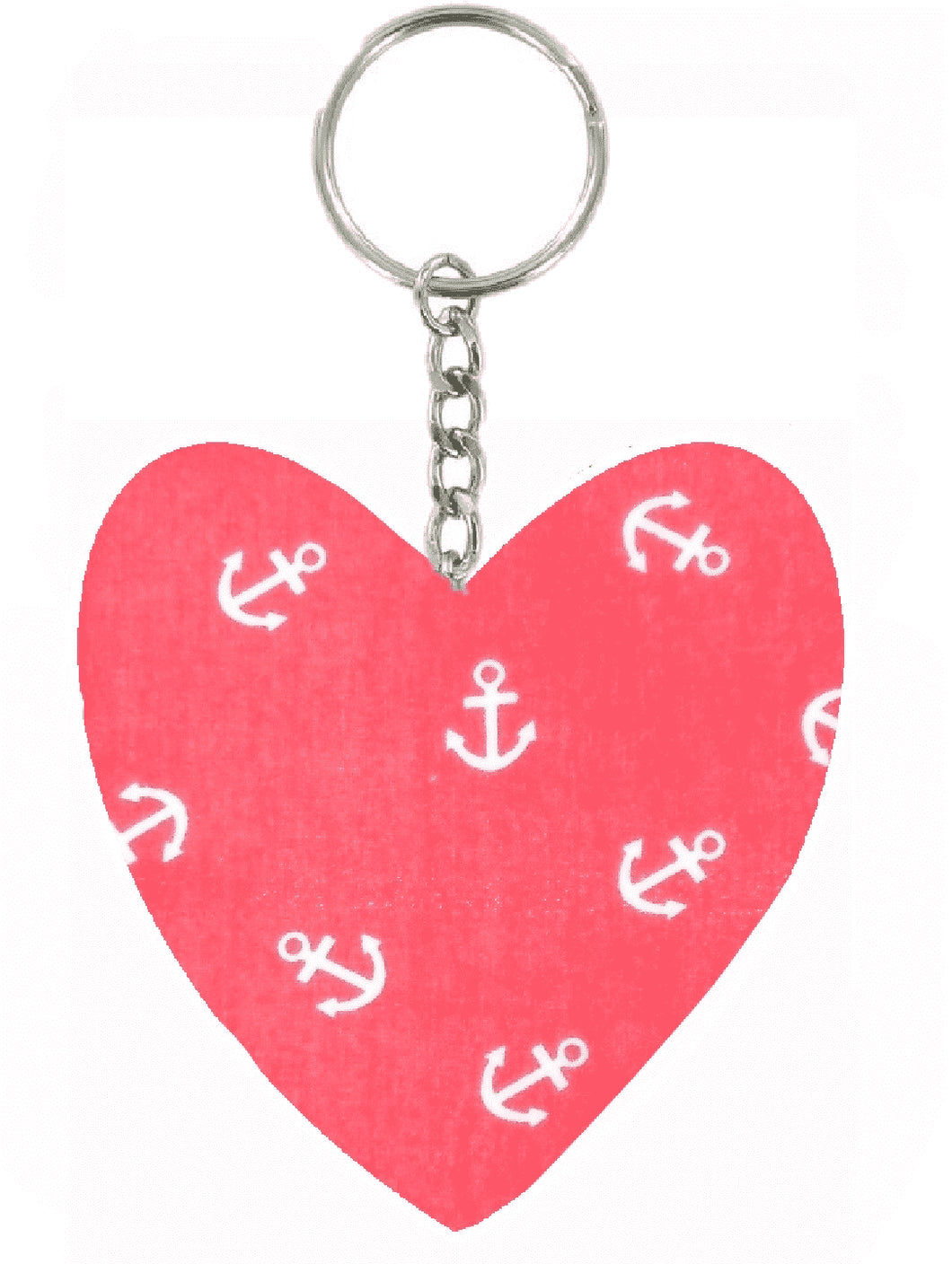 Red_Anchors_Print_Heart_Keyring