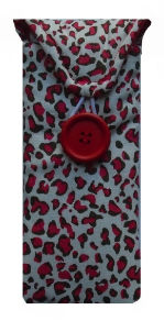 Red Animal Print Glasses Case - Miss Pretty London UK Limited