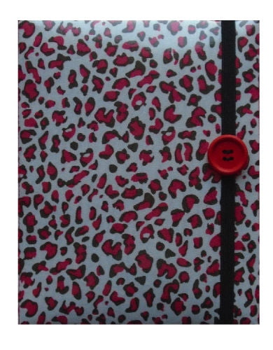 Red Animal Print E-Reader Case - Miss Pretty London UK Limited
