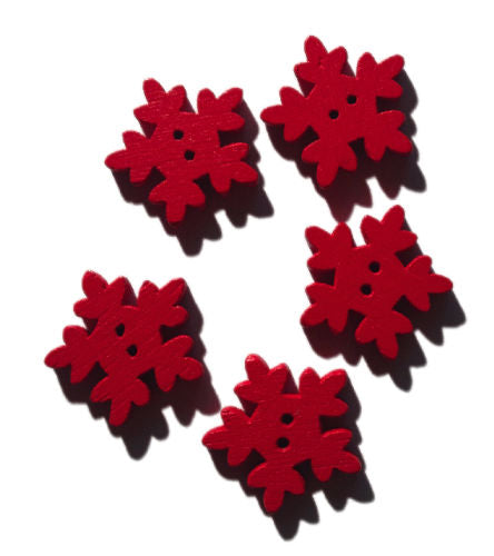 Red_Wooden_Icicle_Buttons_-_Pack_of_5