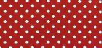 Red and White Polka Dot Print Face Mask - Miss Pretty London UK Limited