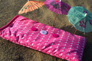 Pink Flamingo Print Mobile Phone Sock Pouch - Miss Pretty London UK Limited
