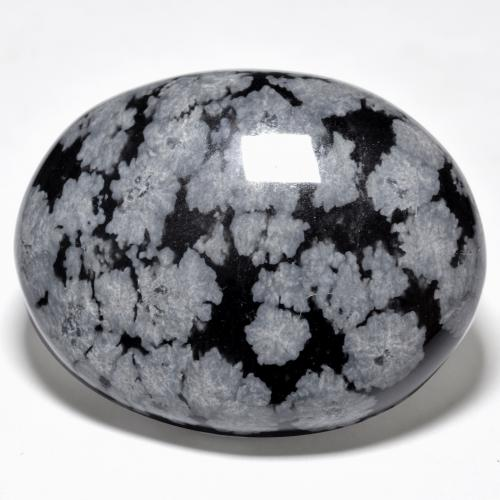 Snowflake Obsidian Tumbler - Stone of Acknowledgement