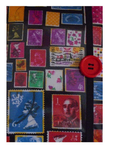 Stamps Print E-Reader Case - Miss Pretty London UK Limited