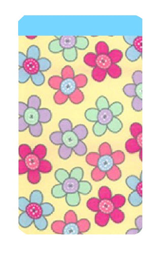 Sugar Daisy Print Mobile Phone Sock Pouch