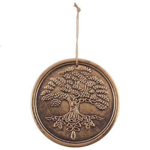 Bronze Terracotta Tree of Life Plaque by Lisa Parker - Miss Pretty London UK Limited