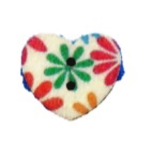 Tropical_Flower_Print_Wooden_Heart_Buttons_-_Pack_of_5