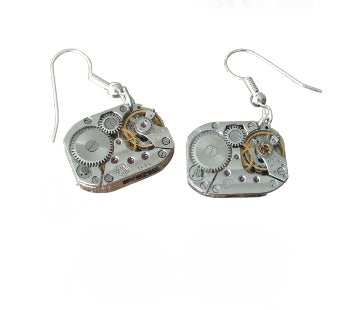 Watch Movement Earrings