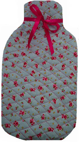 Blue_Vintage_Flower_Hotwater_Bottle_Cover
