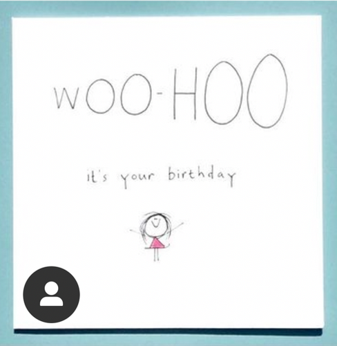 WooHoo Birthday Greeting Card - WCC7 - Miss Pretty London UK Limited