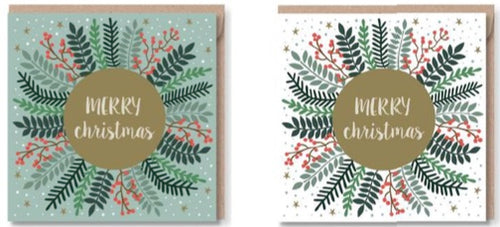 Pack of 6 Christmas Cards - CMC0208