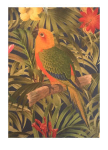 Yellow Parrot Bird Notebook - Miss Pretty London UK Limited