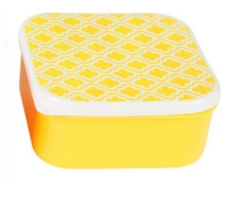 Yellow Retro Lunchbox