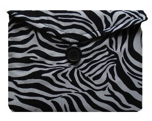Zebra Print Tablet Bag - Miss Pretty London UK Limited