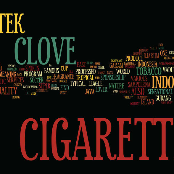 Clove Cigarettes - When burning cloves meeting the natural herbs