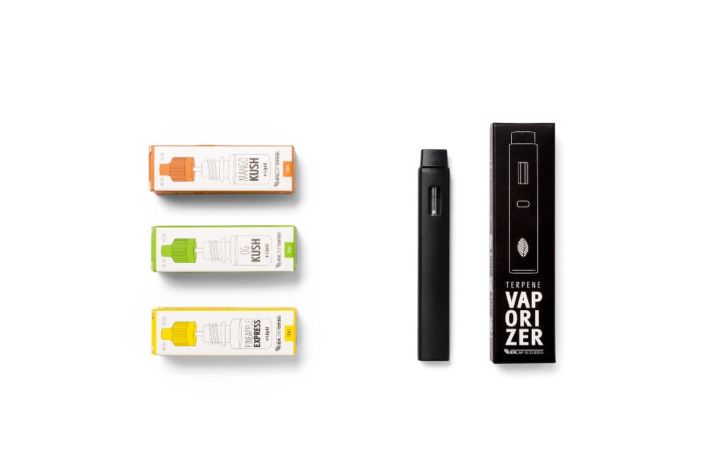 nicotine free vape rich with cannabis terpenes by real life