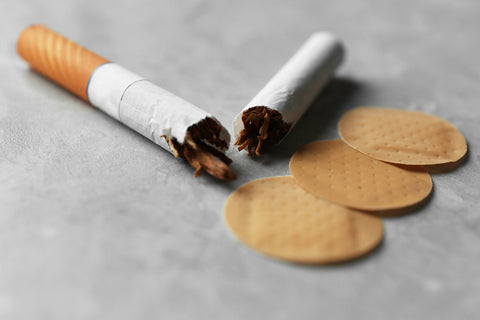 nicotine patches vs herbal cigarettes