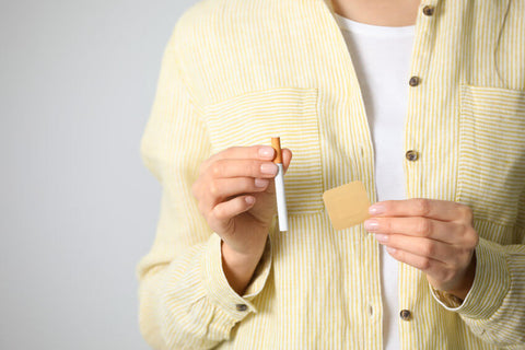 stop smoking with nicotine patches