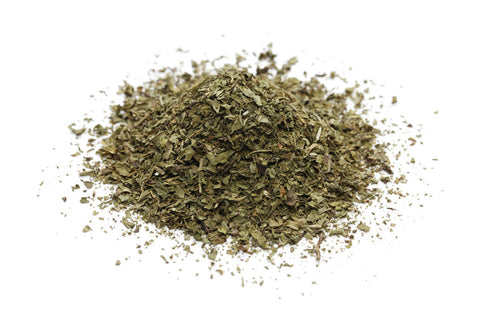 Dry mint to smoke