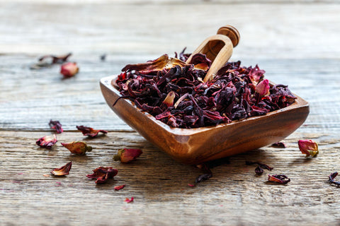 Rose petal herbal blends