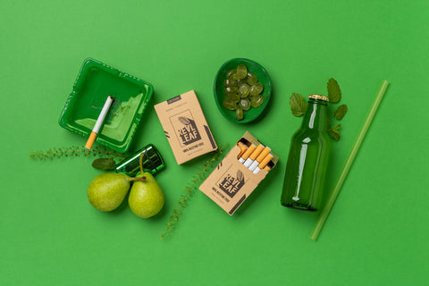 herbal cigarettes by realleaf quit smoke