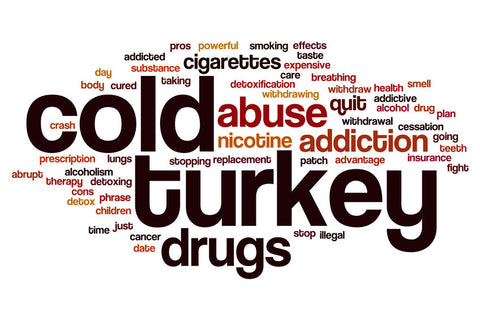 stop smoking cold turkey