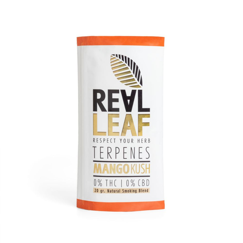 Mango kush herbal smoking blend by real leaf