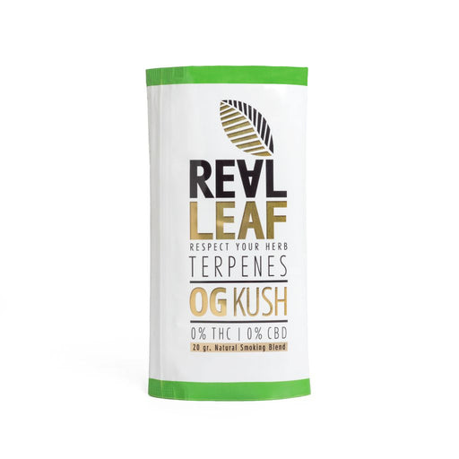Og kush herbal tobacco by real leaf