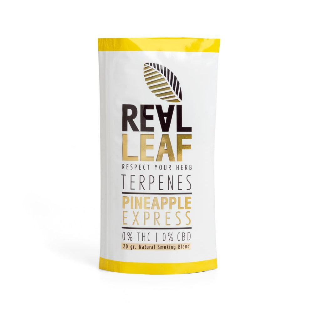 herbal tobacco pineapple express by real leaf