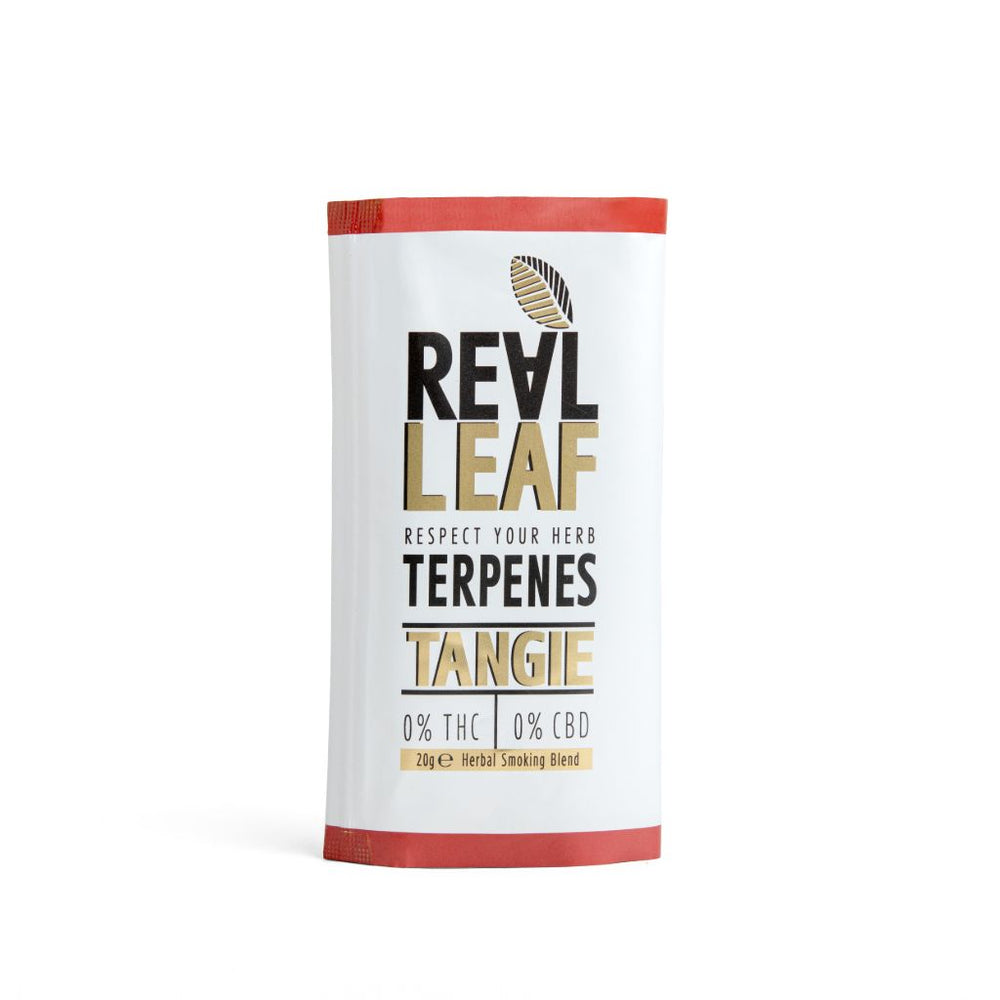 Tangie herbal tobacco terpenes infused by real leaf
