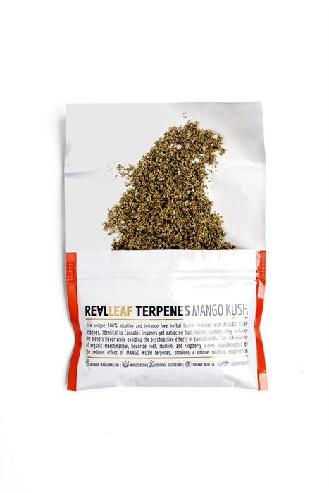 RealLeaf  terpenes Herbal smoking blends Mango Kush