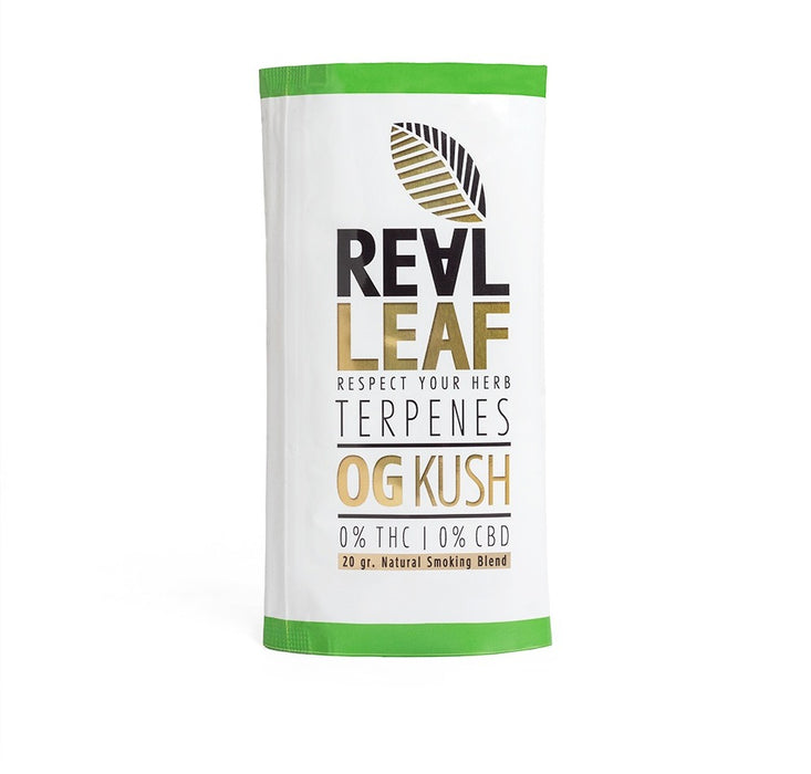 Og Kush Terpenes Herbal Tobacco Blends - 5 Packs