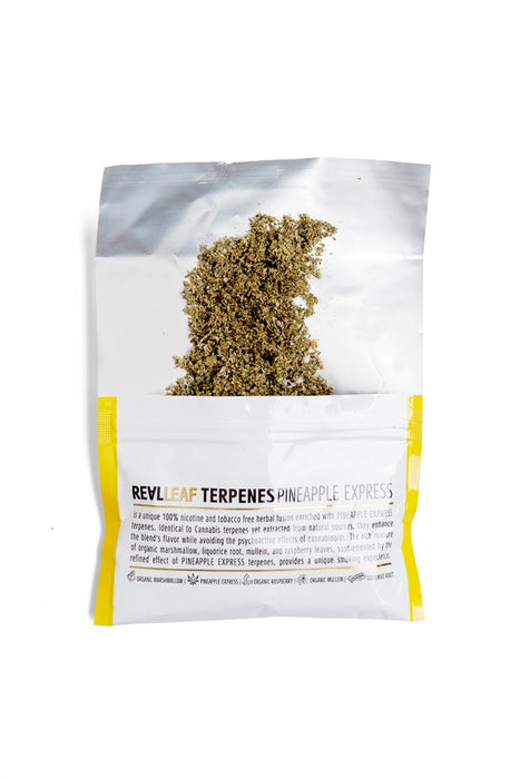 Pineapple Express Terpenes Herbal tobacco nicotine free infuse with terprens