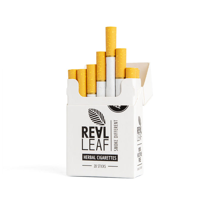 ORGANIC HERBAL CIGARETTES BASED ON MINT