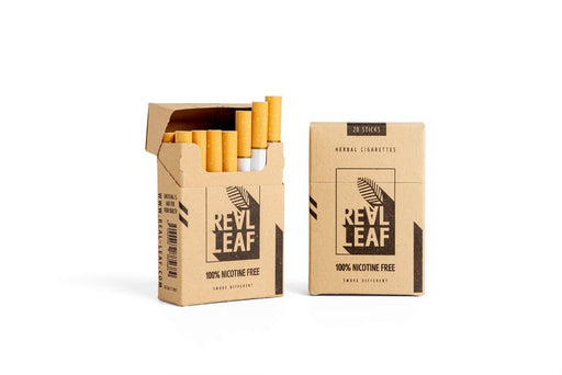 Herbal Cigarettes  made of natural smoking herbs 100% Nicotine & Tobacco  free 40 sticks by RealLeaf