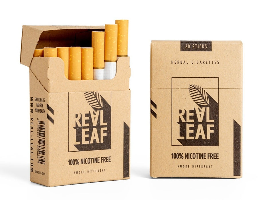 Herbal Cigarettes -  RealLeaf