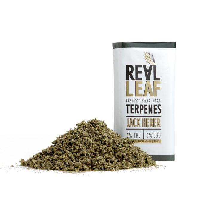 Jack herer TOBACCO SUBSTITUTE terpenes infused by real leaf