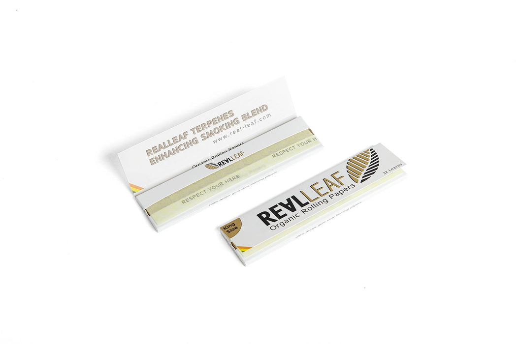 ORGANIC UNBLEACHED ROLLING PAPER - 5 PACKS