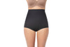 High-Waisted Firm Tummy Compression Postpartum Panty with Adjustable Belly Wrap