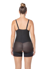 Strapless Short Firm Body Shaper with Butt Lifter