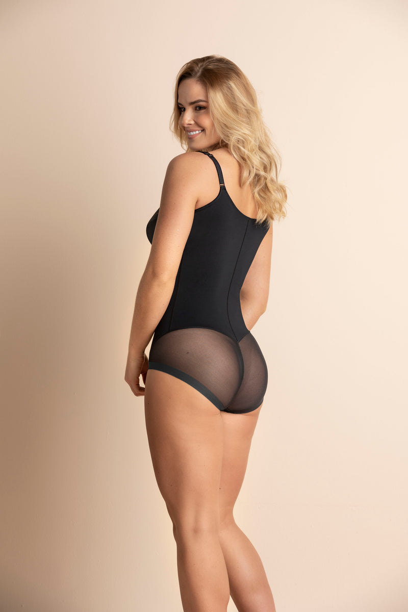 Firm Shaper Bodysuit with Underwire Cups